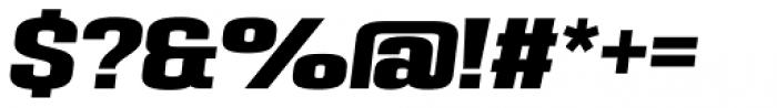 PODIUM Sharp 5.11 italic Font OTHER CHARS