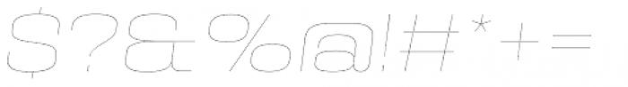 PODIUM Sharp 8.1 italic Font OTHER CHARS
