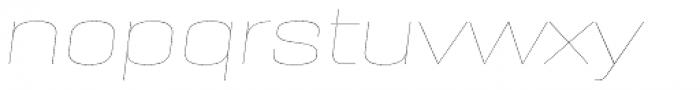 PODIUM Sharp 8.1 italic Font LOWERCASE
