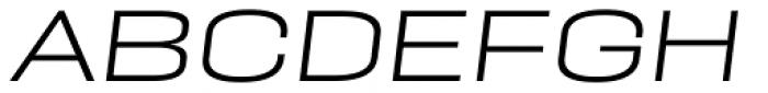 PODIUM Sharp 9.5 italic Font UPPERCASE