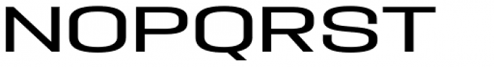 PODIUM Sharp 9.7 Font UPPERCASE