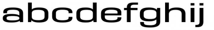 PODIUM Sharp 9.7 Font LOWERCASE