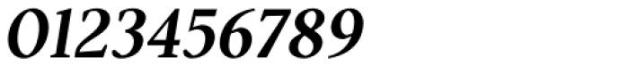 Pobla Demi Bold Italic Font OTHER CHARS