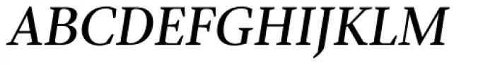 Pobla Italic Font UPPERCASE