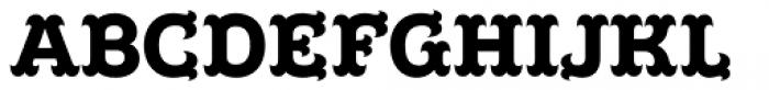 Poblano Black Font UPPERCASE