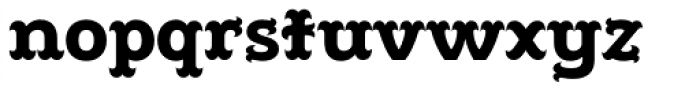 Poblano Black Font LOWERCASE