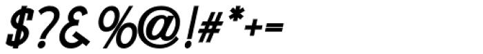 Pocatello Bold Oblique JNL Font OTHER CHARS