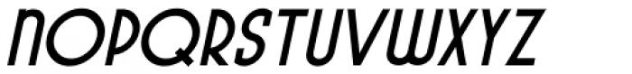 Pocatello Bold Oblique JNL Font UPPERCASE