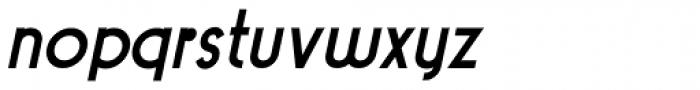 Pocatello Bold Oblique JNL Font LOWERCASE