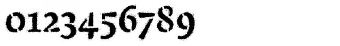 Pochoir Sprayed Font OTHER CHARS