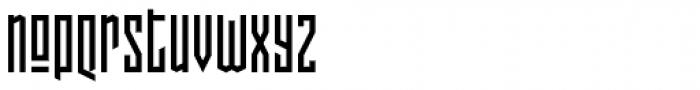 Pocketknife Base Font LOWERCASE