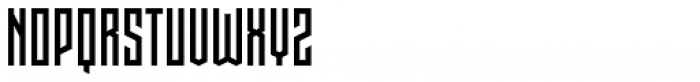 Pocketknife Font UPPERCASE