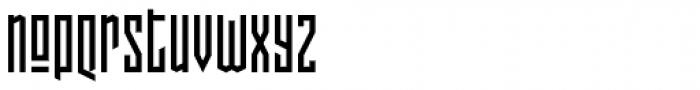 Pocketknife Font LOWERCASE
