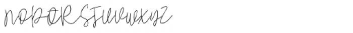 Pogba Regular Font UPPERCASE