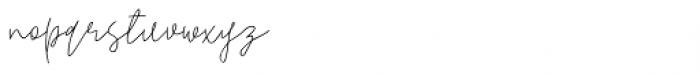Pogba Regular Font LOWERCASE
