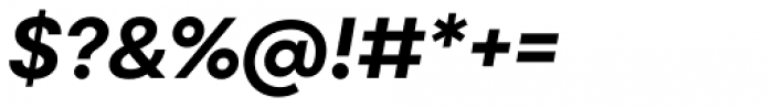 Point Bold Italic Font OTHER CHARS