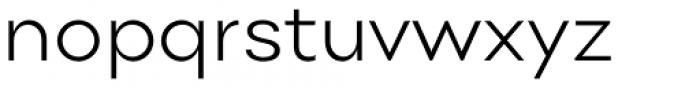 Point Light Font LOWERCASE