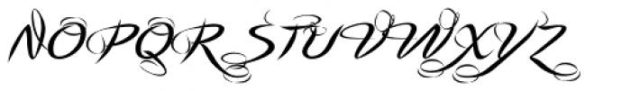 Pointino B Font UPPERCASE