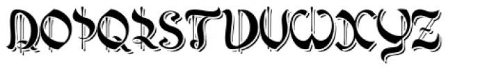 Poisoni Pro Shadow 2 Font UPPERCASE