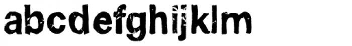 Pokrak Bold Font LOWERCASE