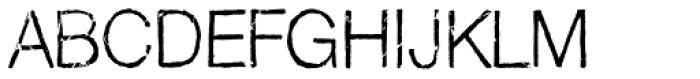 Pokrak Light Font UPPERCASE