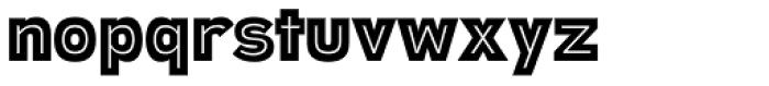 Polarband Font LOWERCASE