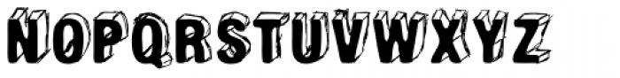Poldi No2 Font UPPERCASE