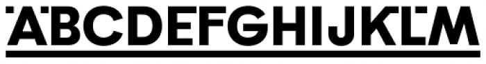 Poligon Extra Bold Link Font UPPERCASE