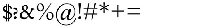Poliphilus MT Regular Font OTHER CHARS