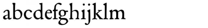 Poliphilus MT Regular Font LOWERCASE