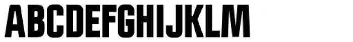 Politica Black Condensed Font UPPERCASE