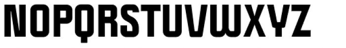 Politica Black Font UPPERCASE