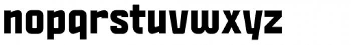 Politica Black Font LOWERCASE