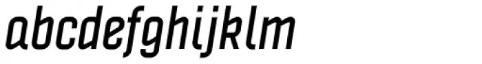 Politica Bold Italic Condensed Font LOWERCASE