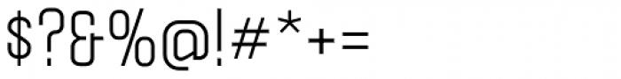 Politica Regular Condensed Font OTHER CHARS