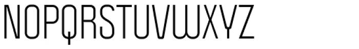Politica Regular Condensed Font UPPERCASE