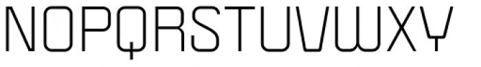 Politica Regular Expanded Font UPPERCASE