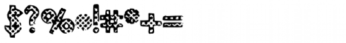 Polka Dotti Font OTHER CHARS