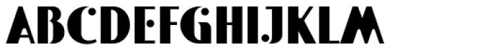 Polke Font UPPERCASE