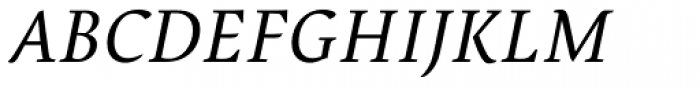Pollen Italic Font UPPERCASE