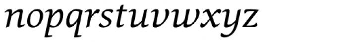 Pollen Italic Font LOWERCASE