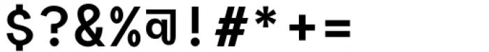 Polli Sans Mono Bold Font OTHER CHARS