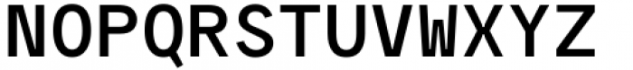 Polli Sans Mono Bold Font UPPERCASE
