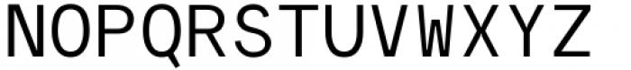 Polli Sans Mono Font UPPERCASE