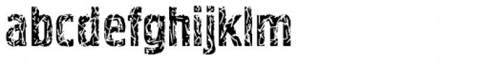 Pollock 3 Font LOWERCASE