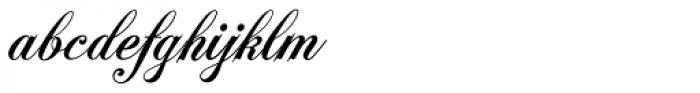 Polonaise URW D Bold Font LOWERCASE