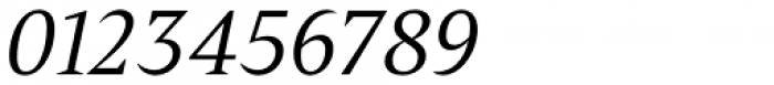 Poly Italic Font OTHER CHARS