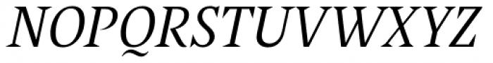 Poly Italic Font UPPERCASE