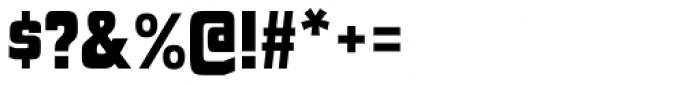 Polyflec Black Font OTHER CHARS
