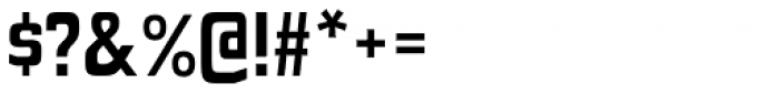 Polyflec Bold Font OTHER CHARS